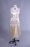 Ivory Satin Flapper Dress