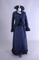 Silk Taffeta Dress with Jacket
