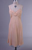 Women's Peach Knee Length Slip